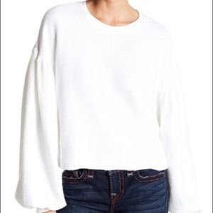 Free people Sleeveless like these pullover white L